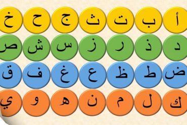الحروف العربية